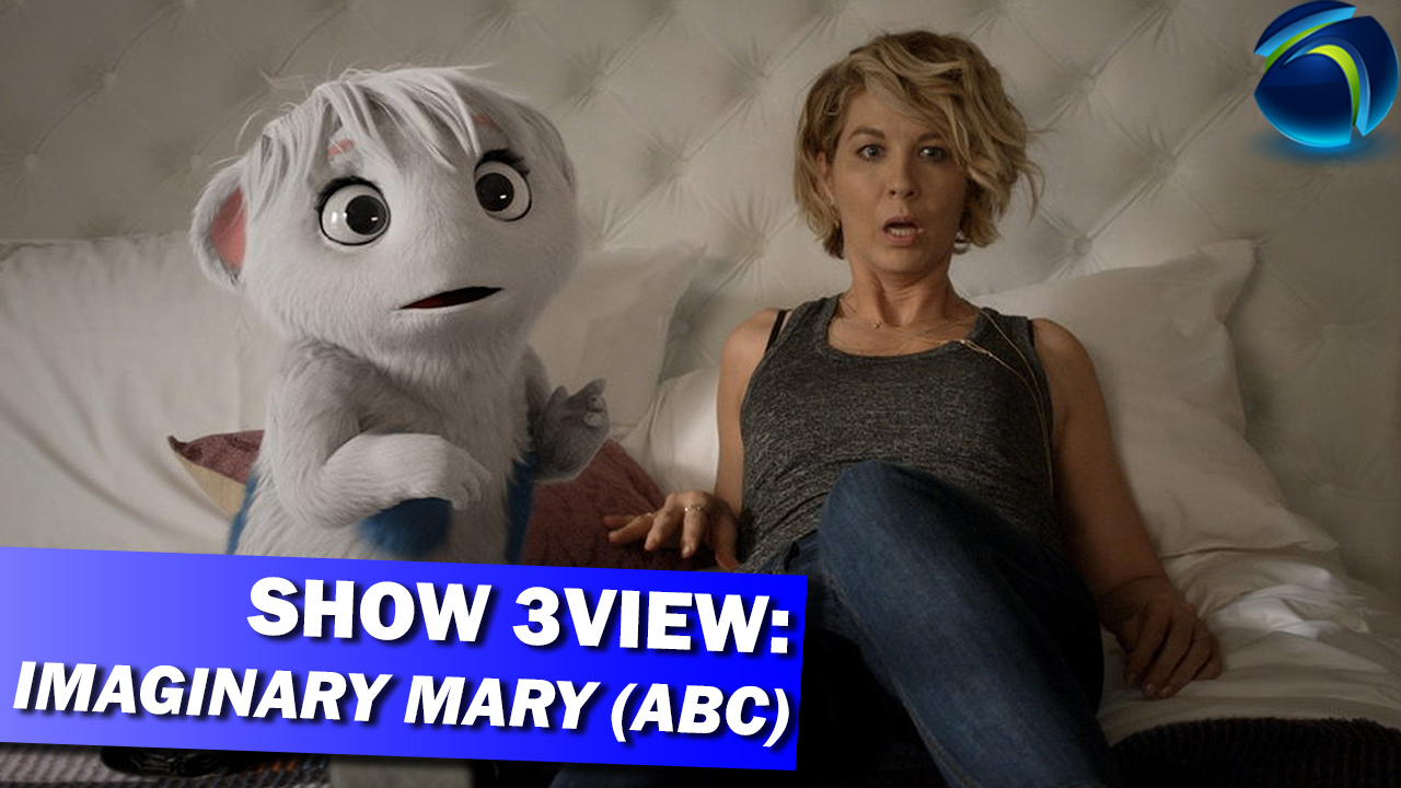 We review ABC's Imaginary Mary staring Jenna Elfman (pictured) | TELEMAZING