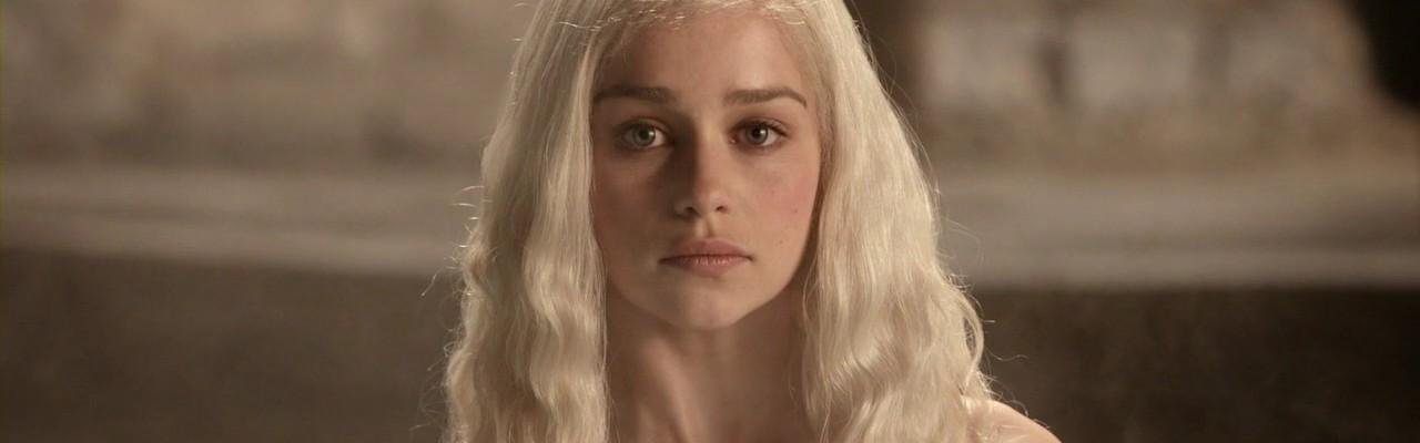 Daenerys is nude some Game of Thrones scenes, one of the many characters shown nude in the program.
