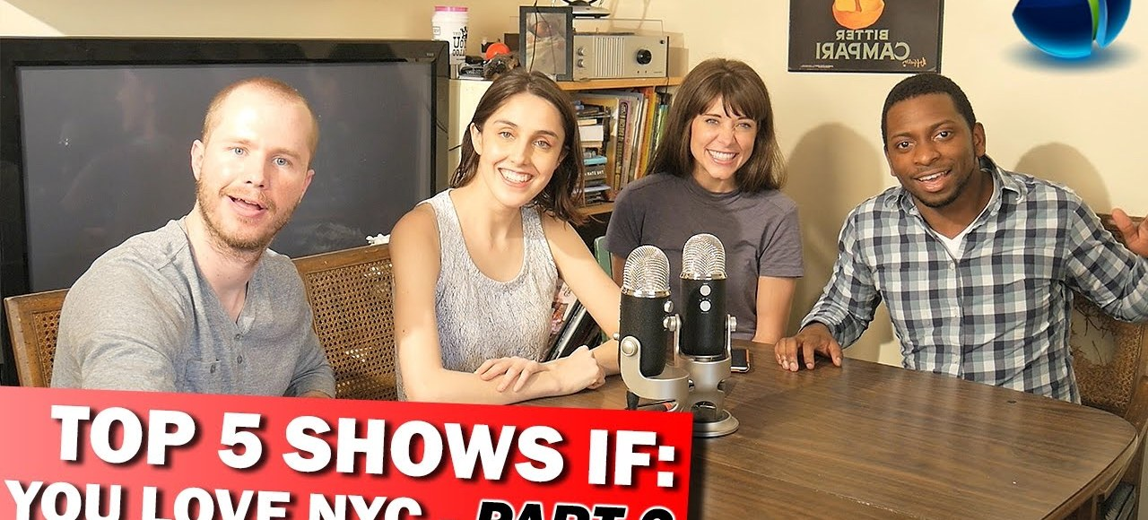 Joseph Mwamba, Holly Sauer, Carla Montero, and Tony Fox debate the best shows based on or located in New York City. Telemazing