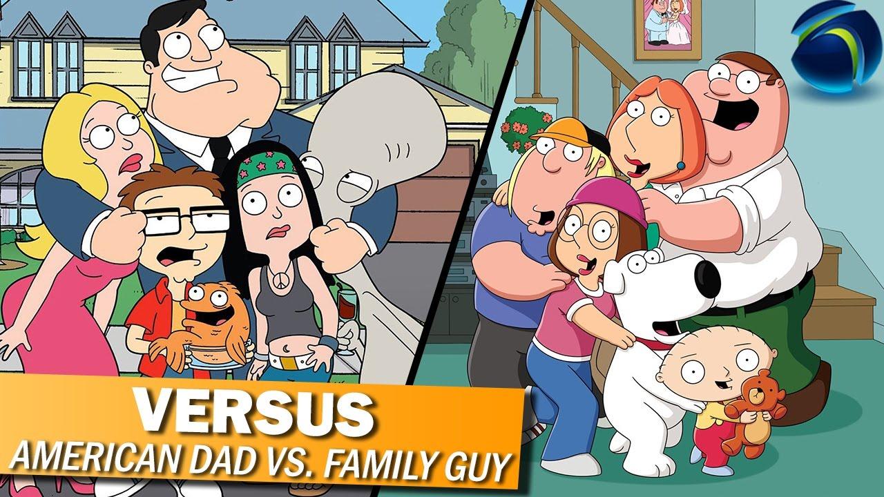 VERSUS: American Dad v. Family Guy