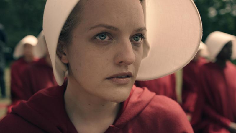 Elizabeth Moss stars in Hulu's The Handmaid's Tale